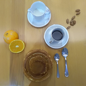 pancakes arancia