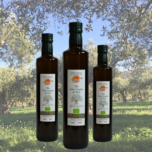 Olio extravergine di oliva in bottiglia