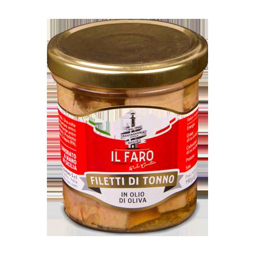 filetti di tonno in olio di oliva